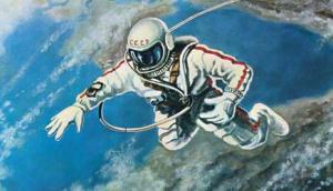 Когда Леонова готовили к выходу в открытый космос