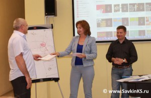 Вручение сертификатов участникам