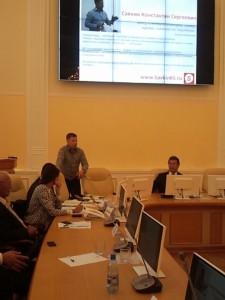 Выступление - семинар в Якутии, Савкин Константин