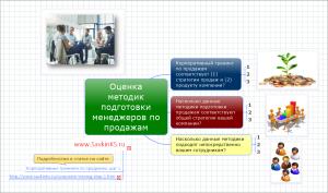 Оценка методик подготовки менеджеров по продажам