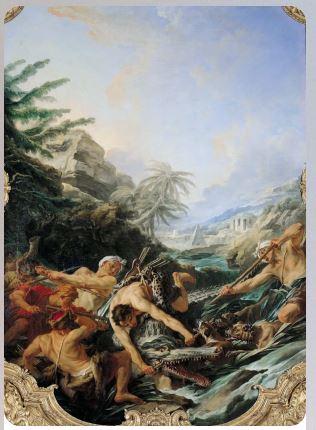 Охота на крокодила, Франсуа Буше