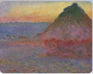 Моне, Стог, 1891, серия Meules