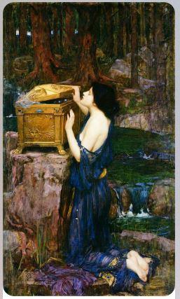 Пандора 1896 Уотерхаус