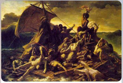Плот Медузы -1819 - Теодор Жерико