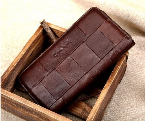 Упаковка кожаных изделий из Китая