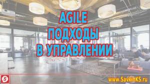 Agile подходы в управлении