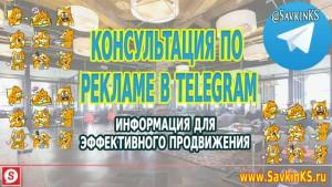 Консультация по рекламе в Telegram