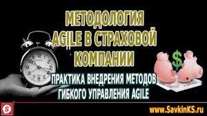 Методология Agile в страховой компании