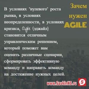 Почему нужно использовать Agile эджайл