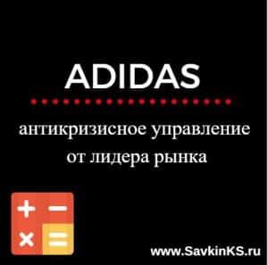 Рекомендации Adidas по выходу из кризиса