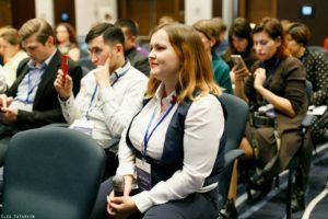 Предприниматели, участники конференции по экспорту