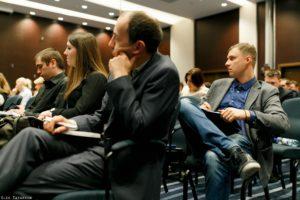 Слушатели конференции по экспорту