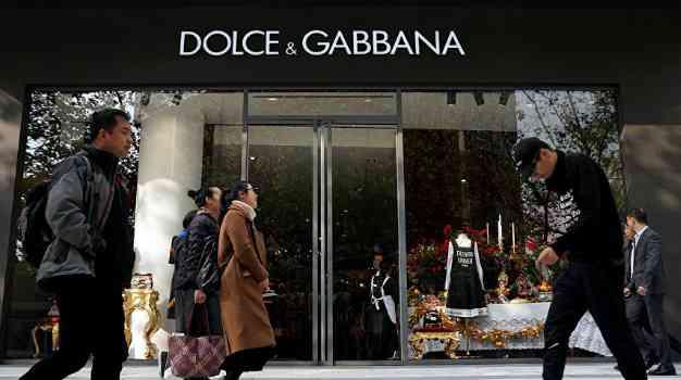Dolce & Gabbana скандал в Китае