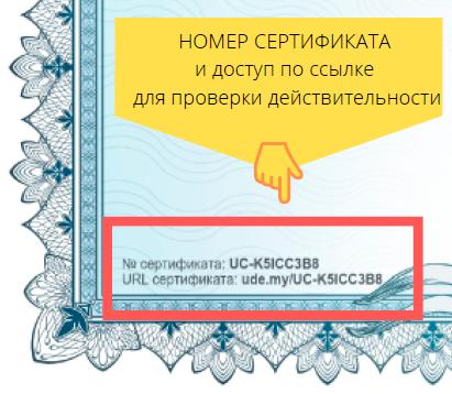 корпоративные тренинги проверить сертификат