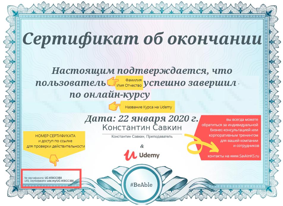 Корпоративные тренинги международный сертификат