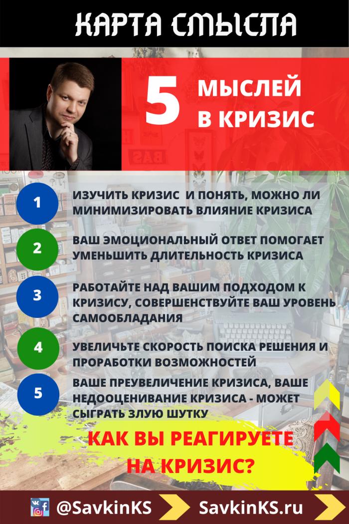 Как управлять кризисом?! - 12 размышлений по антикризисному управлению