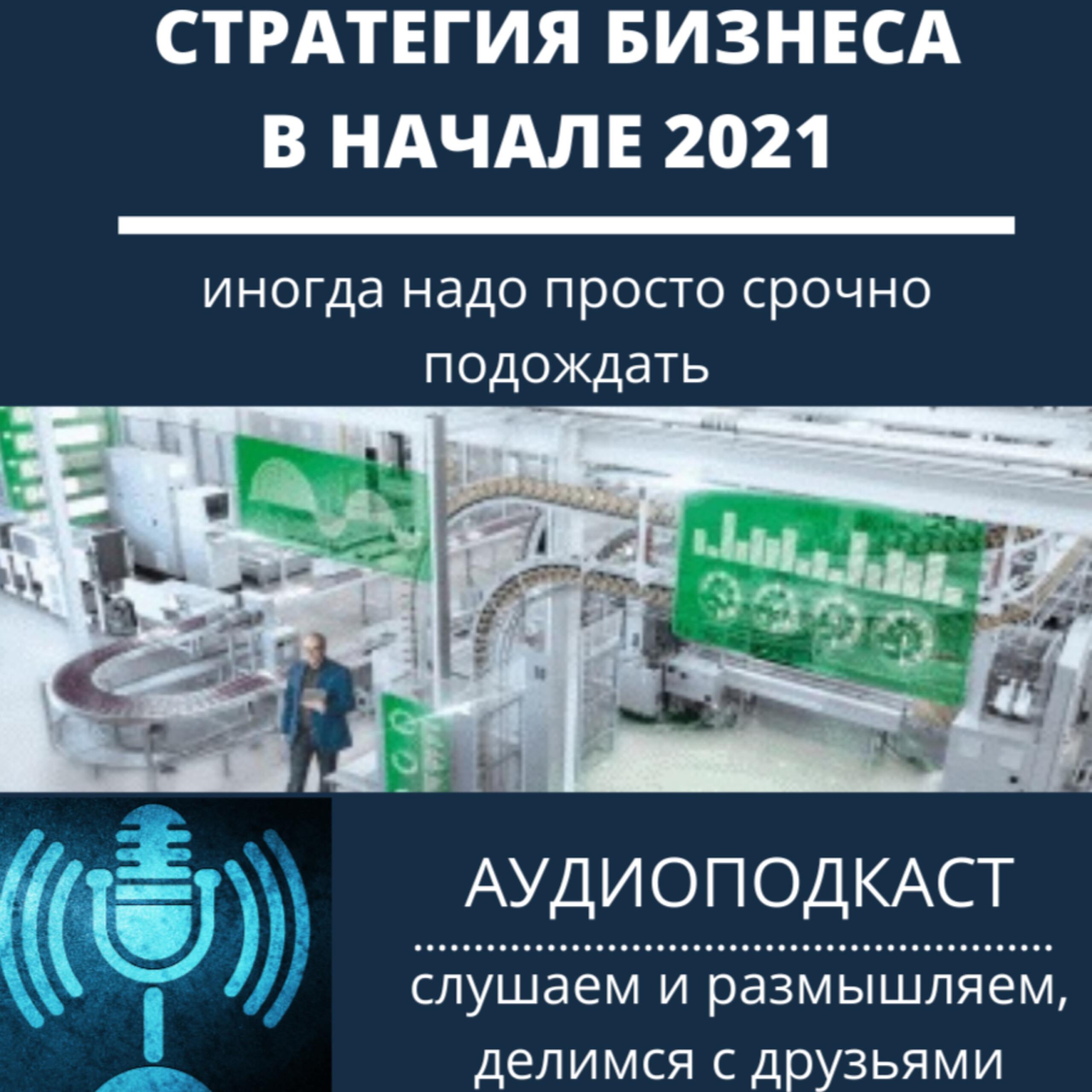 Стратегия бизнеса в начале 2021 - надо срочно подождать