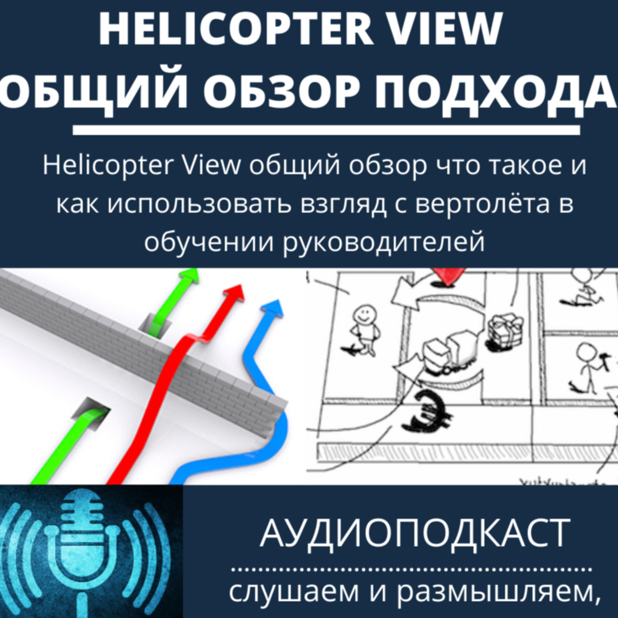 Helicopter View общий обзор что такое и как использовать взгляд с вертолёта в обучении руководителей